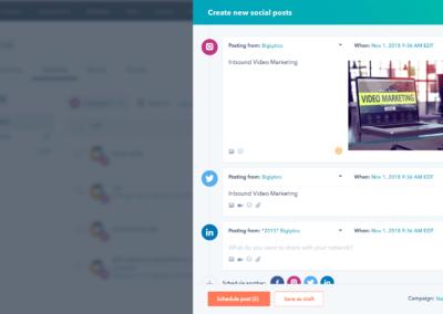 Hubspot Social Media Management